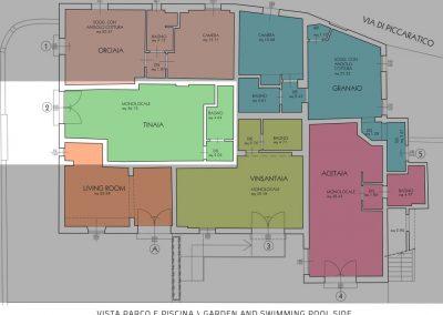 agritursmo piccaratico: appartamento vinaia